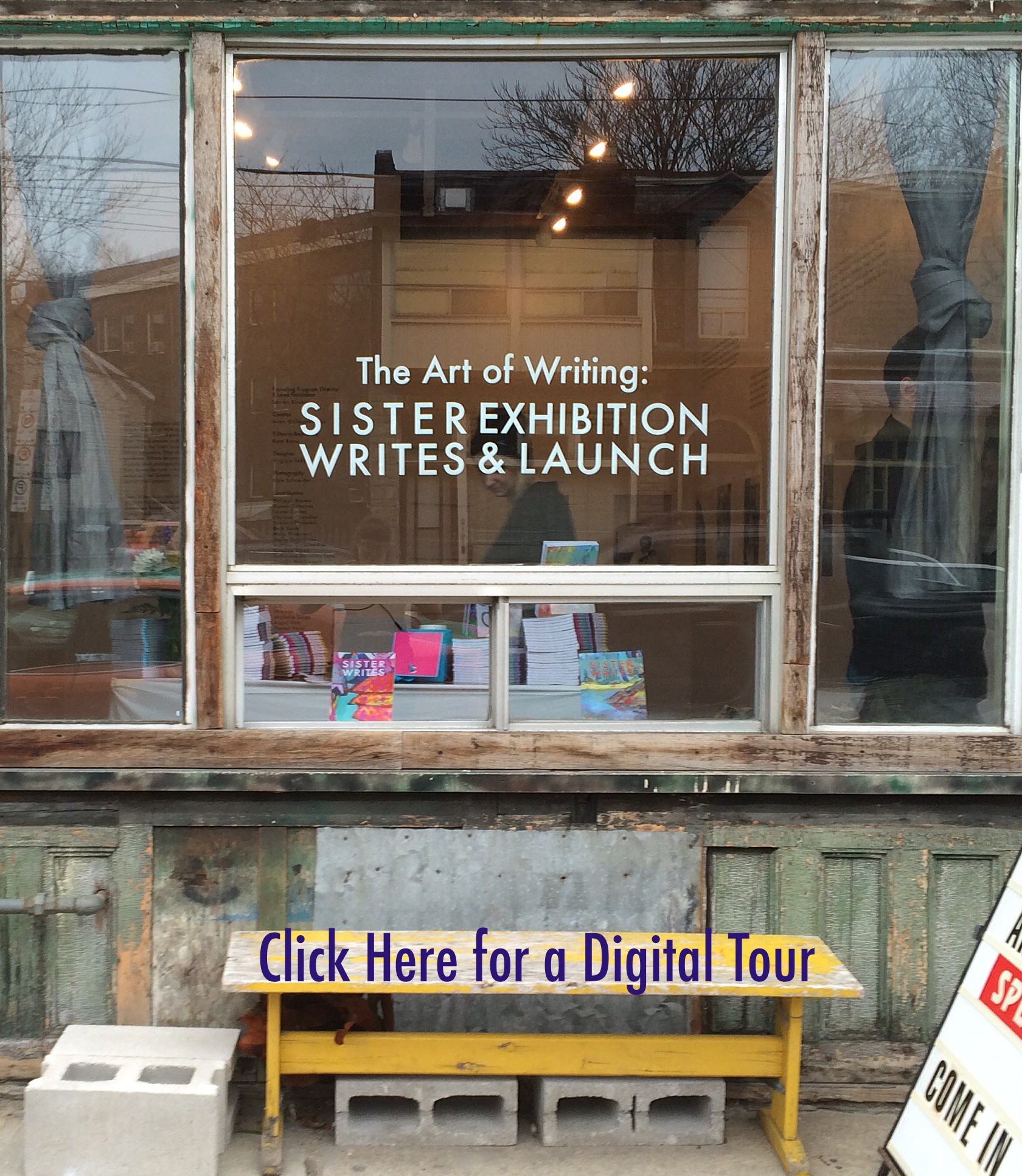 The Art of Writing: Sister Writes Exhibition & Launch